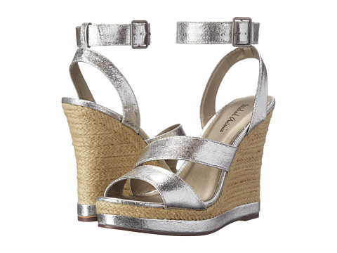 Michael Antonio - Gate (Silver) Women's Wedge Shoes