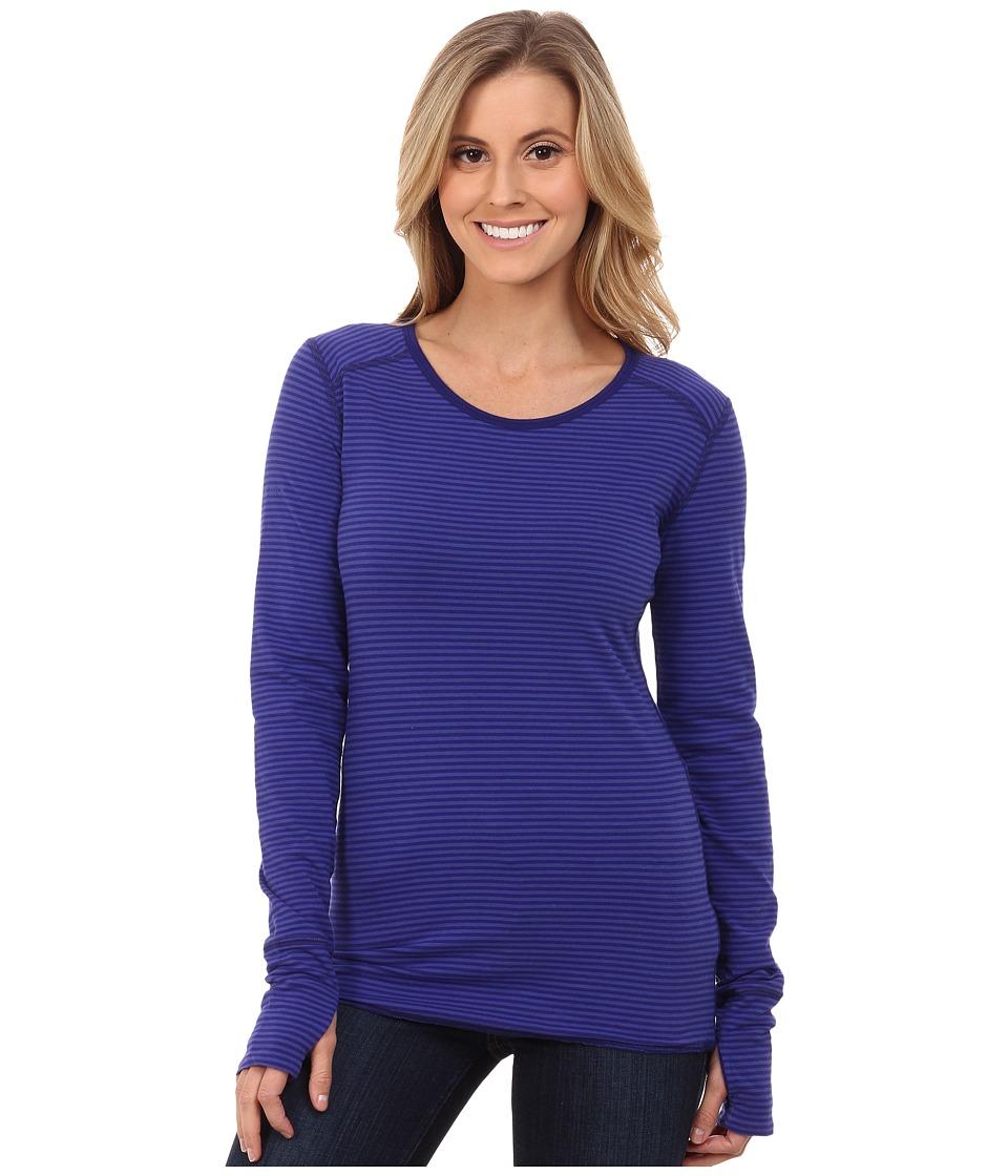 Marmot - Hannah Reversible LS (Midnight Purple) Women's Long Sleeve Pullover