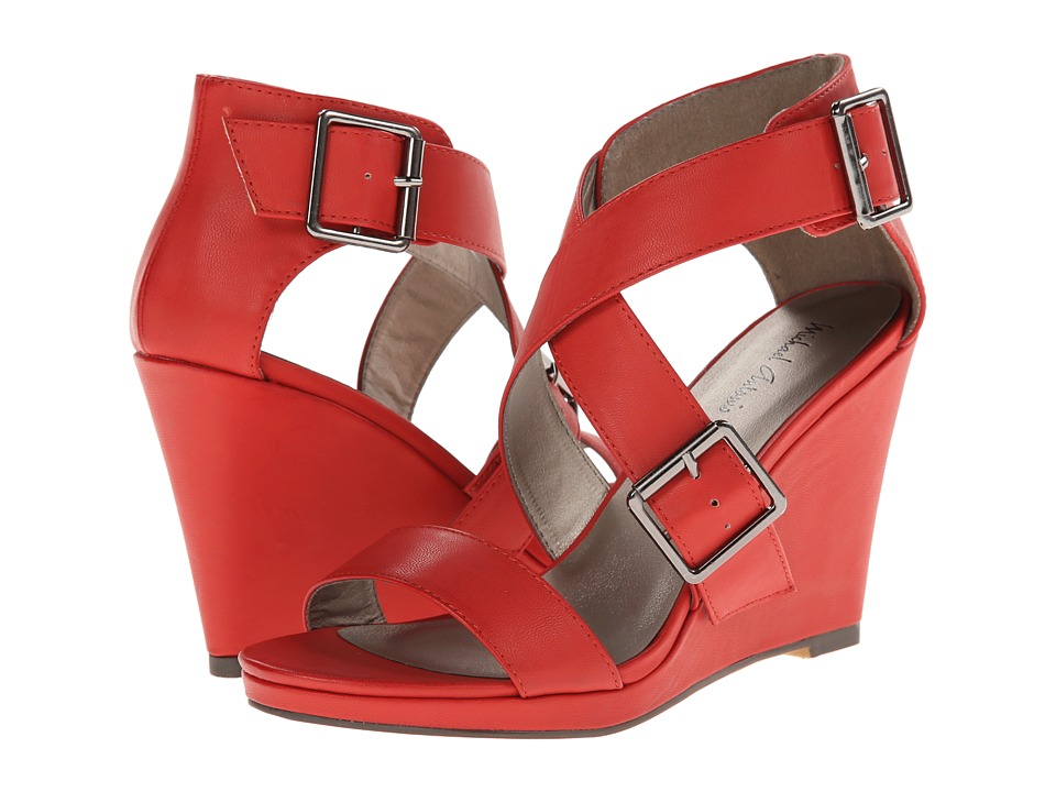 Michael Antonio - Kendrick (Red) Women's Wedge Shoes