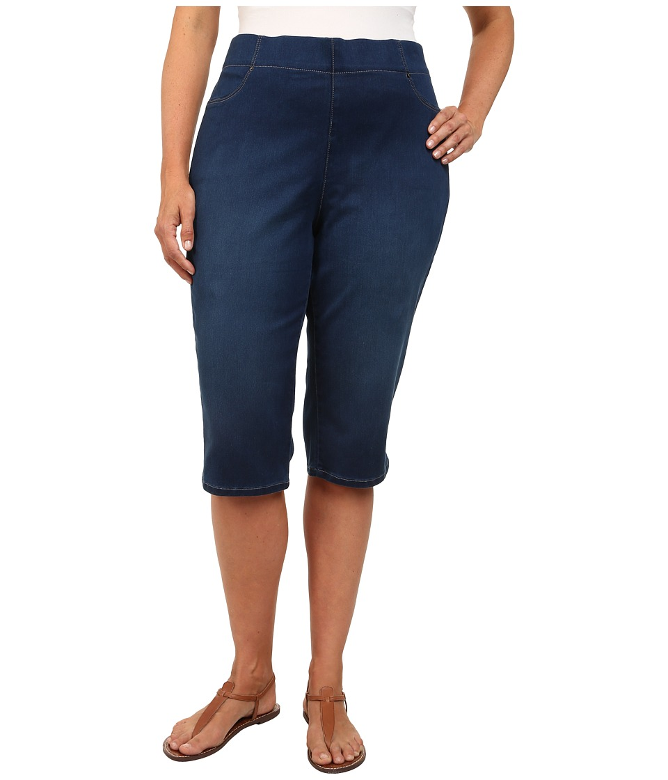 NYDJ Plus Size - Plus Size Kaelin Skimmer Super Stretch Pull-On in Wagner (Wagner) Women's Capri
