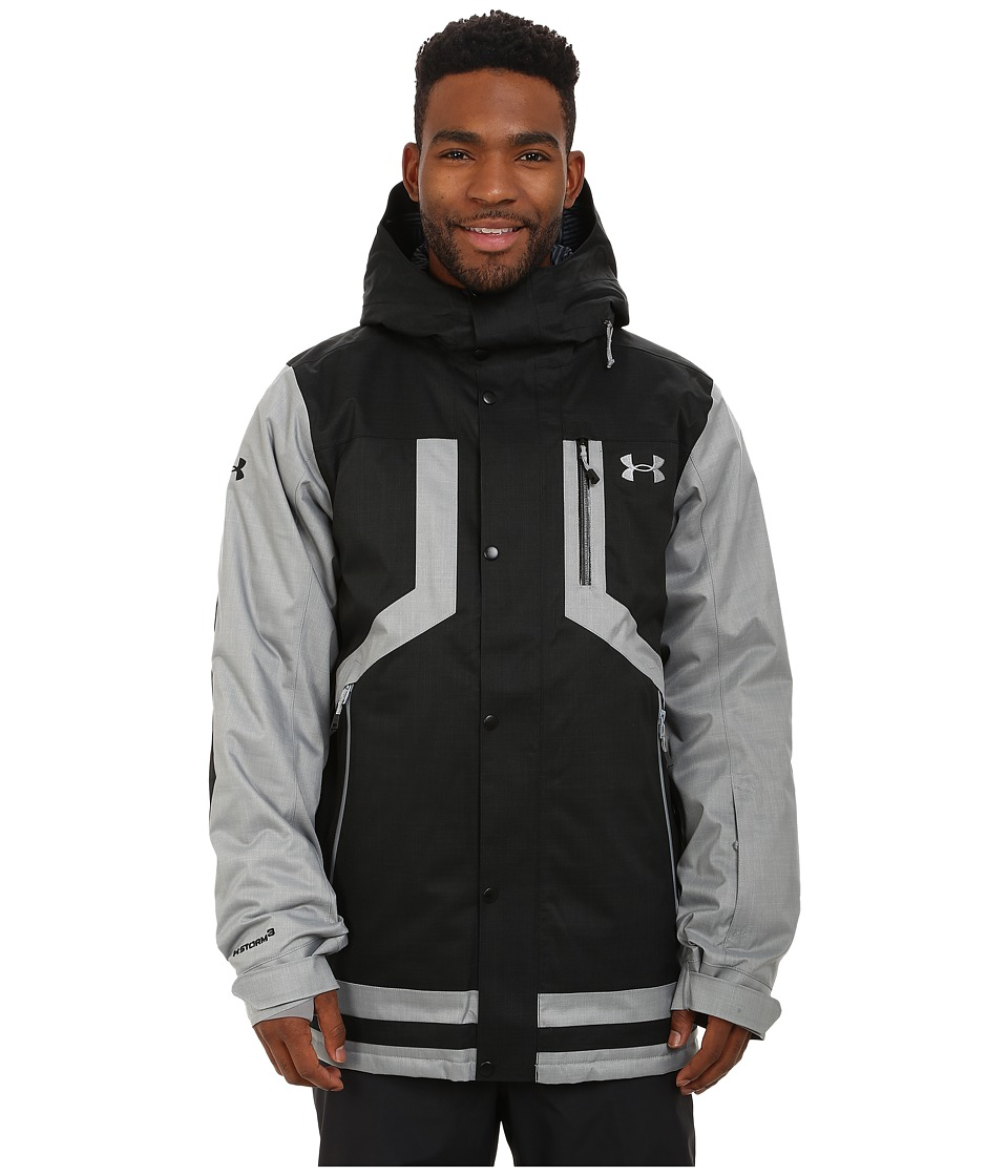 Under Armour - UA CGI Fractle Jacket (Black) Men's Coat