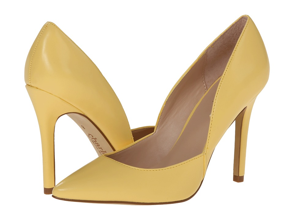 Charles by Charles David - Parker (Yellow Smooth) High Heels