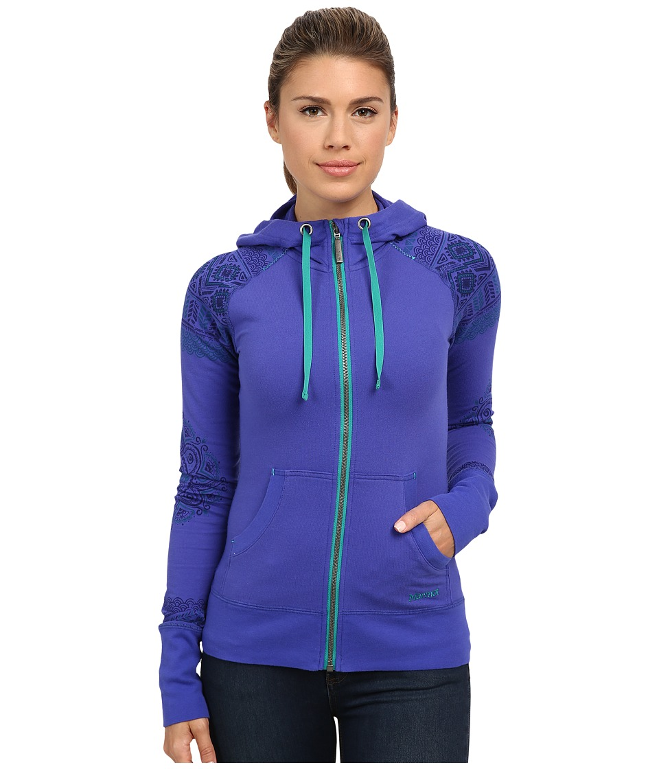 Marmot - Callie Hoodie (Gemstone) Women's Sweatshirt