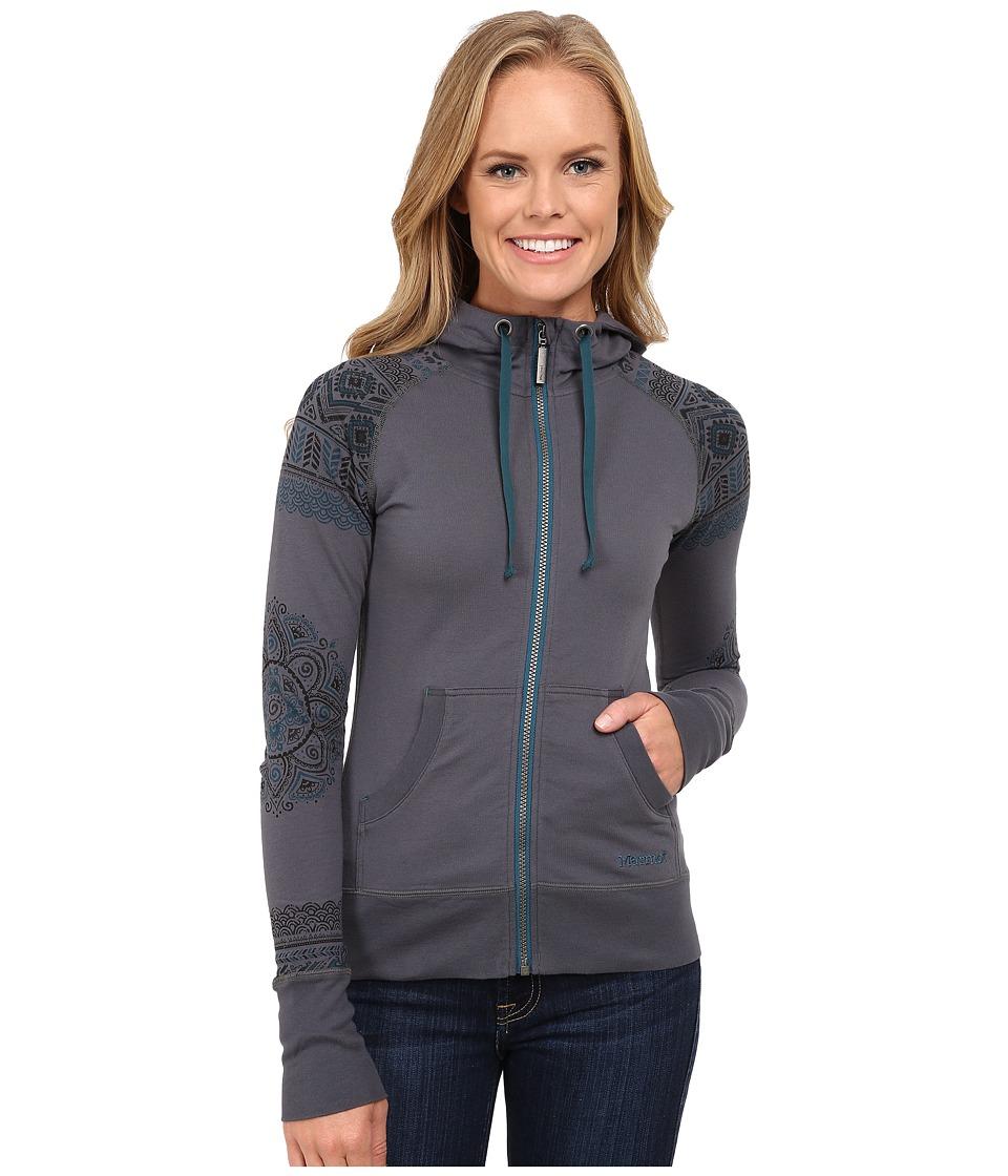 Marmot - Callie Hoodie (Steel Onyx) Women's Sweatshirt
