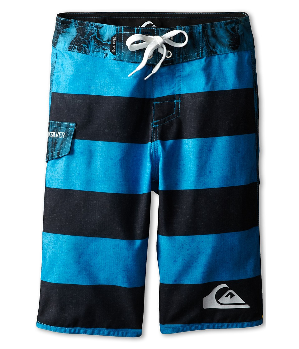 Quiksilver Kids - Everyday Brigg Shorts (Big Kids) (Hawaiian Ocean) Boy's Shorts