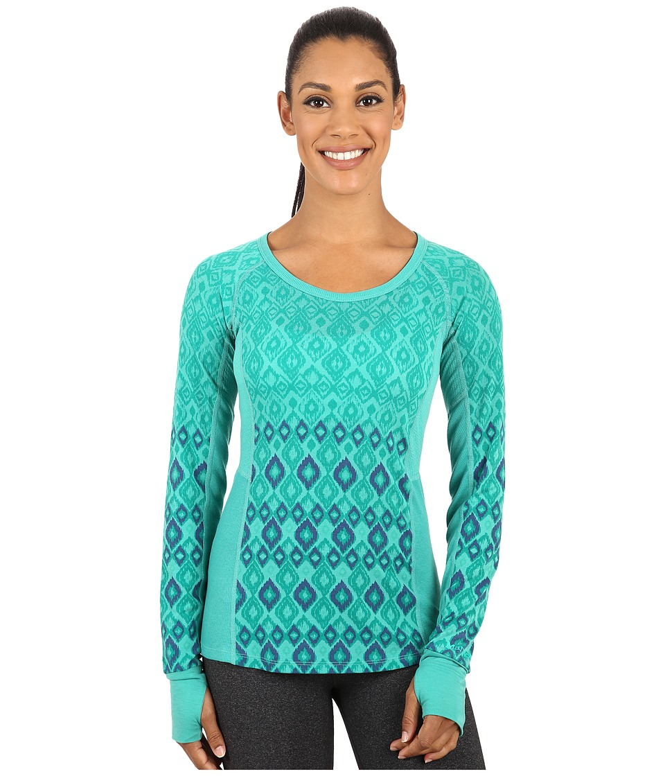 Marmot - Gabby Long Sleeve (Gem Green) Women's Long Sleeve Pullover