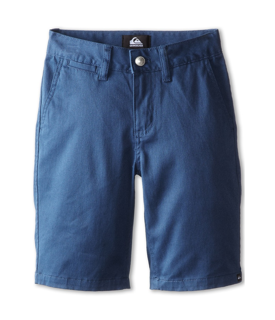 Quiksilver Kids - Union Chino Short (Big Kids) (Dark Denim) Boy's Shorts