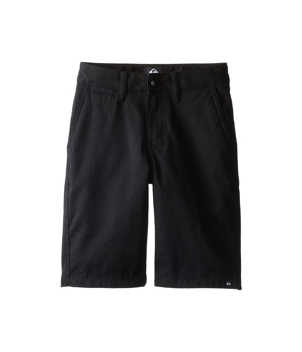 Quiksilver Kids - Union Chino Short (Big Kids) (Black) Boy's Shorts