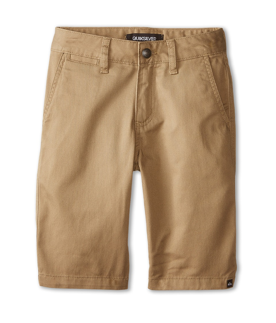 Quiksilver Kids - Union Chino Short (Big Kids) (Elmwood) Boy's Shorts
