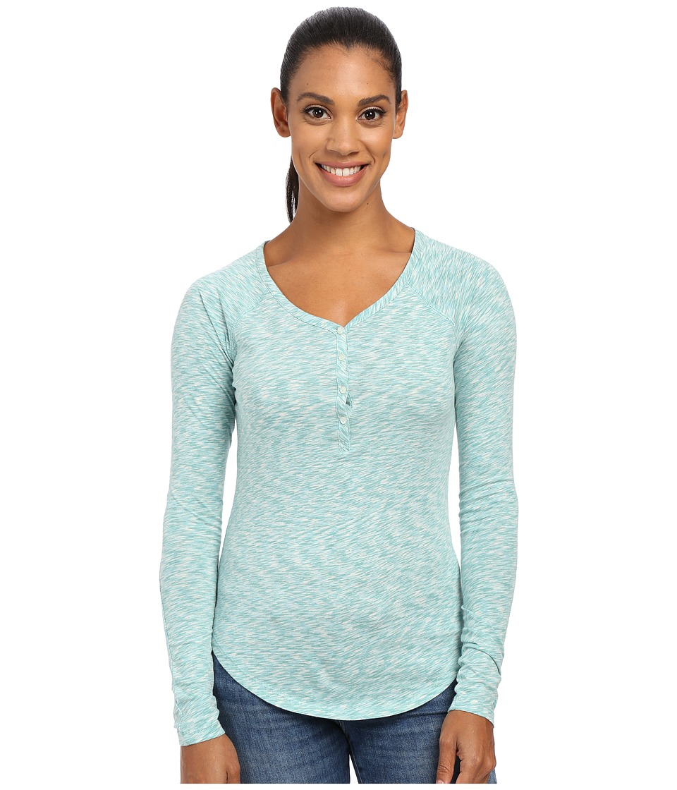 Marmot Mackenzie Henley Long Sleeve (Gem Green) Women