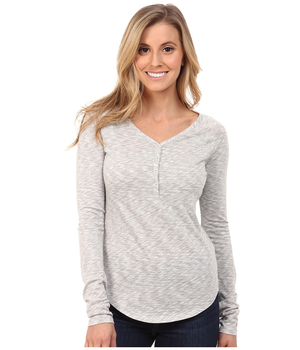 Marmot Mackenzie Henley Long Sleeve (White) Women