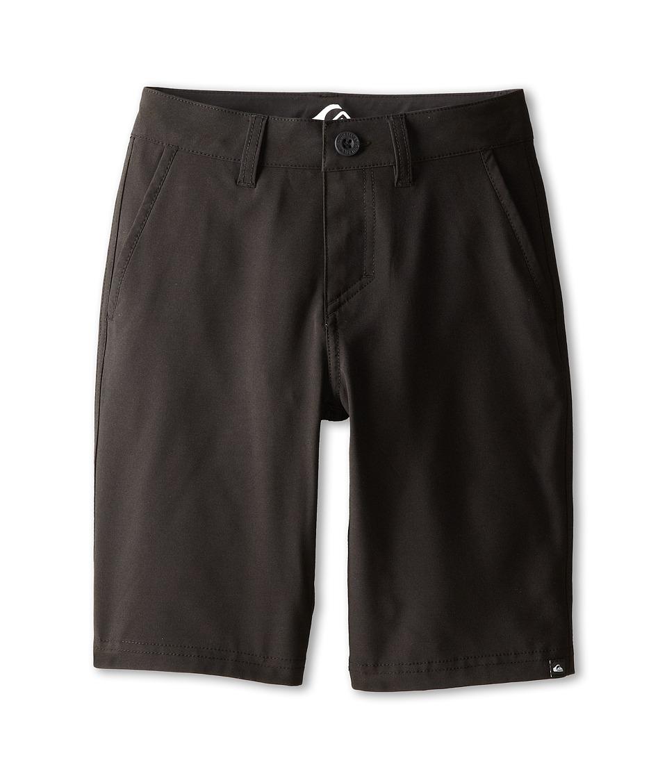 Quiksilver Kids - Everyday Solid Amphibian Short (Big Kids) (Black) Boy's Shorts