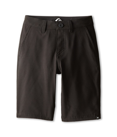 Quiksilver Kids - Everyday Solid Amphibian Short (Big Kids) (Black) Boy