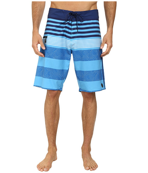Volcom - Lido Tito 21 Boardshort (Cyan Blue) Men's Swimwear