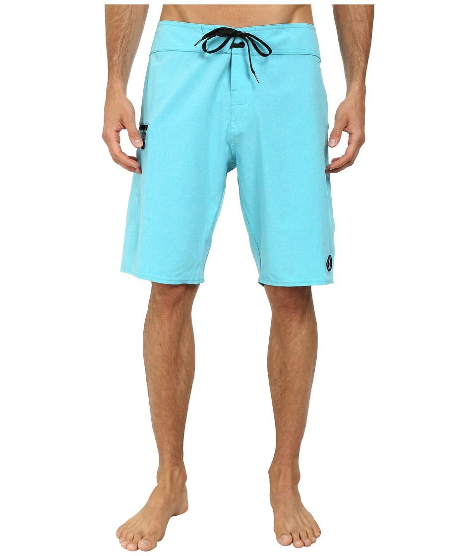 Volcom - Static Mod 21 Boardshort (Tidal Blue) Men's Swimwear