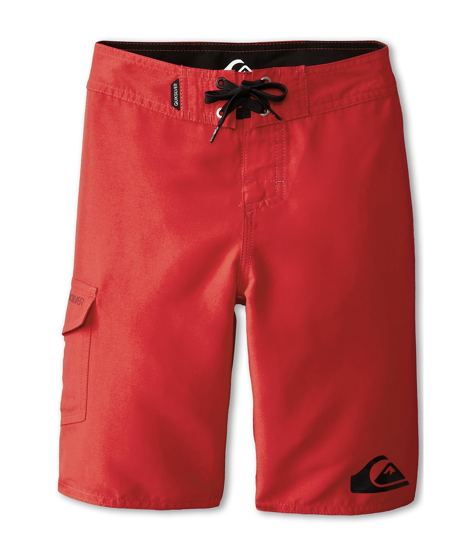Quiksilver Kids - Everyday 21 Boardshort (Big Kids) (Quik Red) Boy's Swimwear