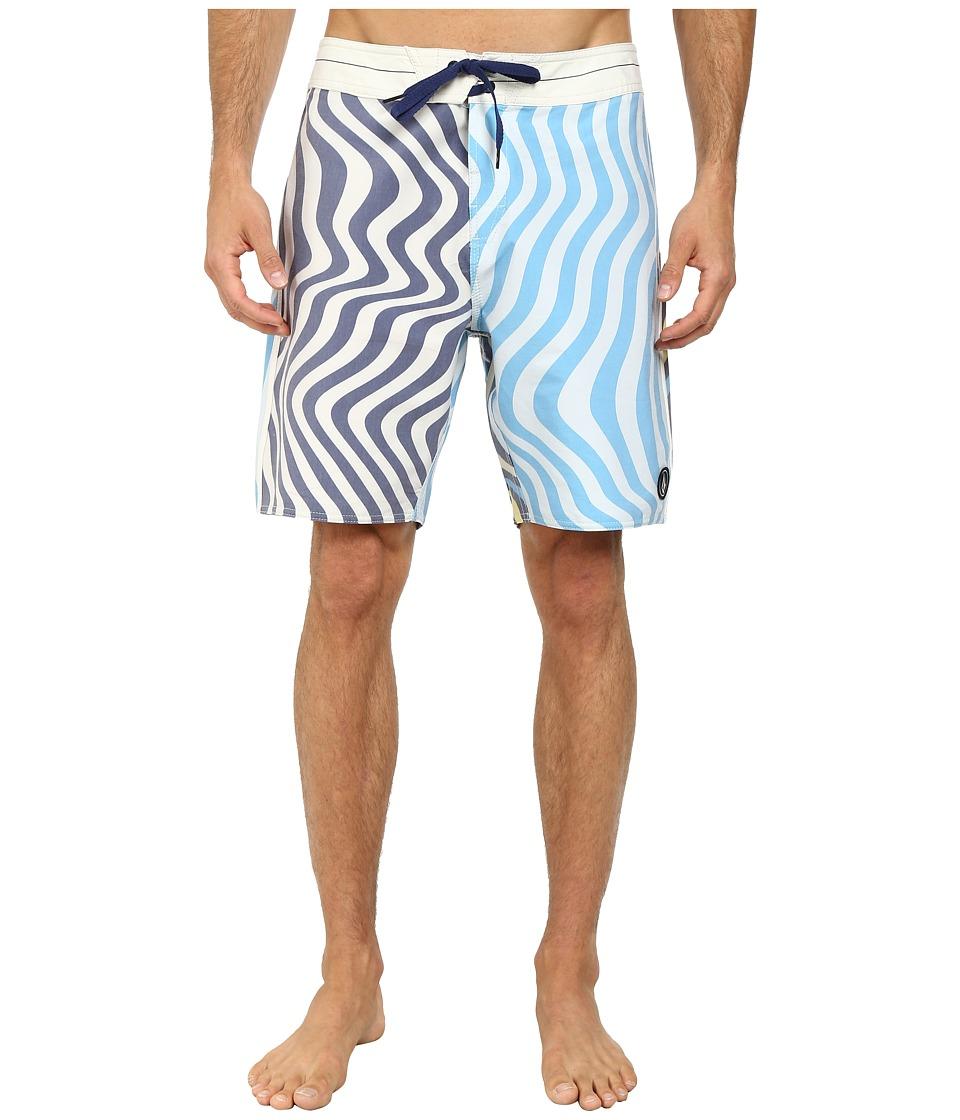 Volcom - Spangler Boardshort (Matured Blue) Men's Swimwear