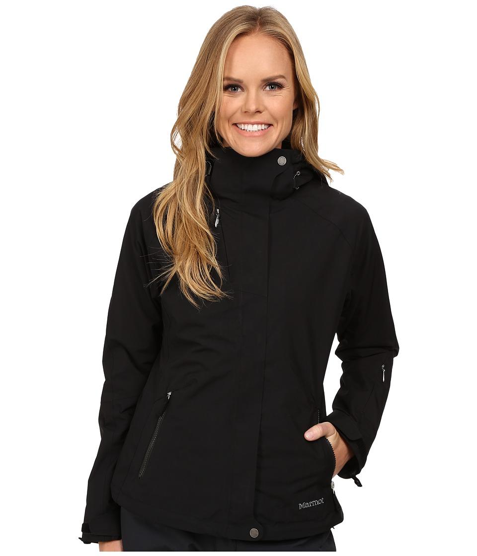 Marmot - Sugar Loaf Component (Black) Women's Coat