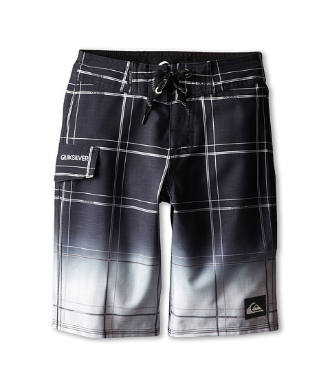 Quiksilver Kids - Electric Space Boardshort (Big Kids) (Black) Boy's Swimwear