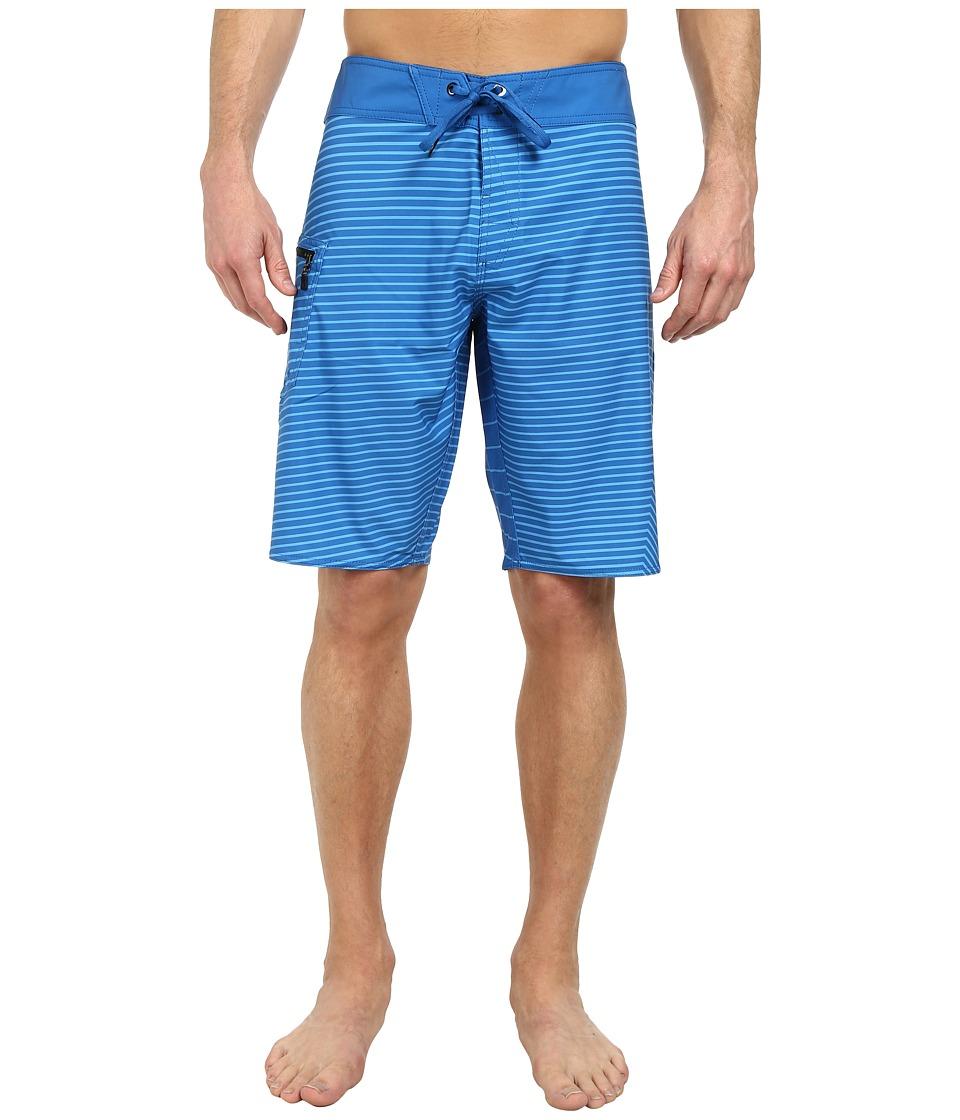 Volcom - Lido Vertigo 21 Boardshort (Bold Blue) Men's Swimwear