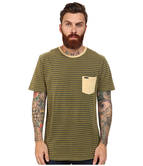 Volcom - Gilford Crew (Shadow Lime) Men