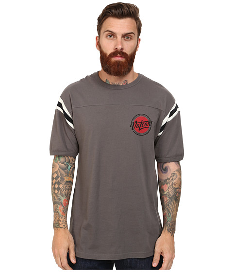 Volcom - James Jersey (Dark Grey) Men's T Shirt