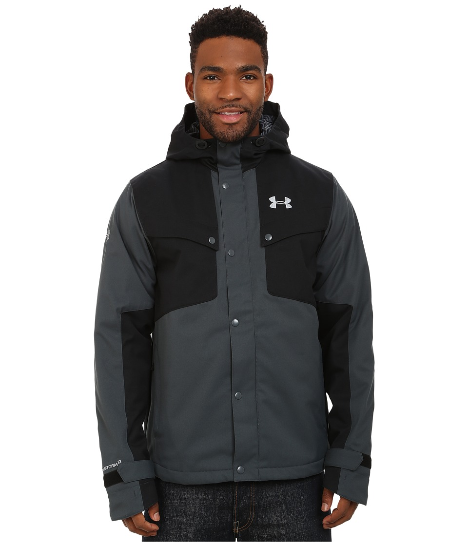 Under Armour - UA CGI Bevel Jacket (Stealth Gray) Men's Coat