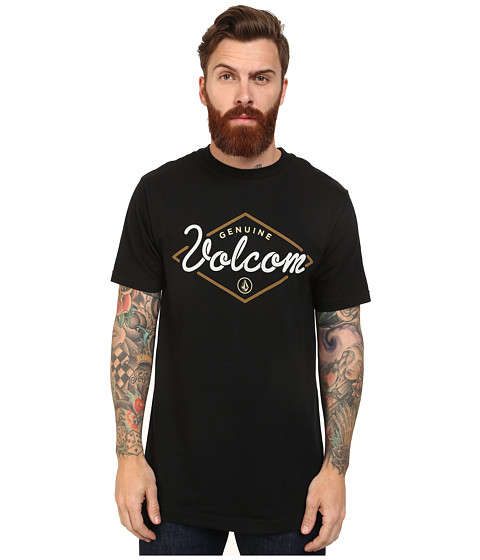 Volcom - Gallery Tee (Black) Men