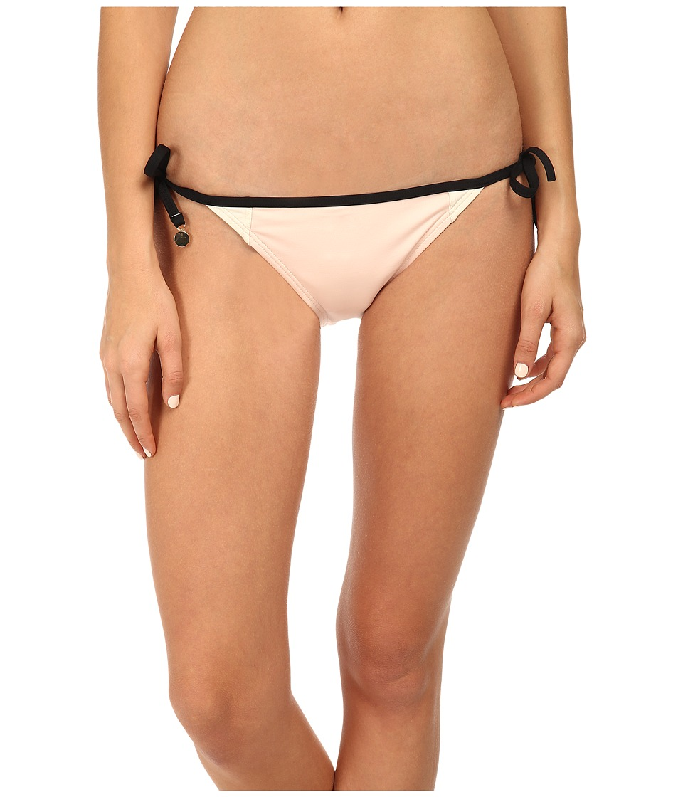 Kate Spade New York - Parrot Cay Color Block String Tie Bottom (Blush) Women's Swimwear