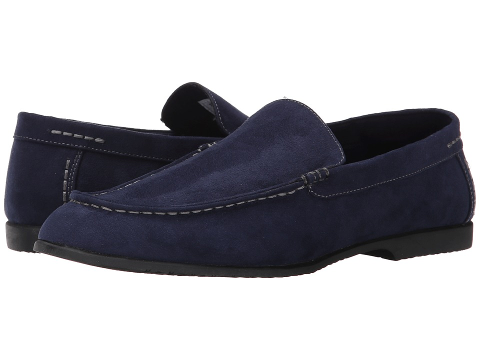 Robert Wayne - Kit (Navy) Men's Slip on Shoes