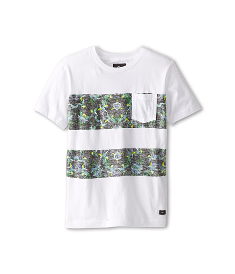 Quiksilver Kids - Whitefield Tee (Big Kids) (White) Boy's T Shirt