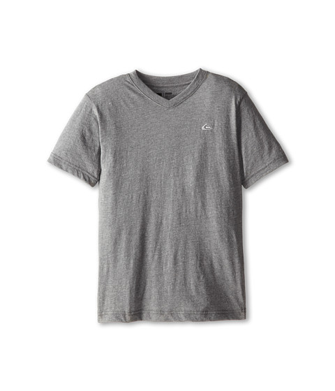 Quiksilver Kids - Core Daily Tee (Big Kids) (Medium Grey Heather) Boy's Short Sleeve Pullover