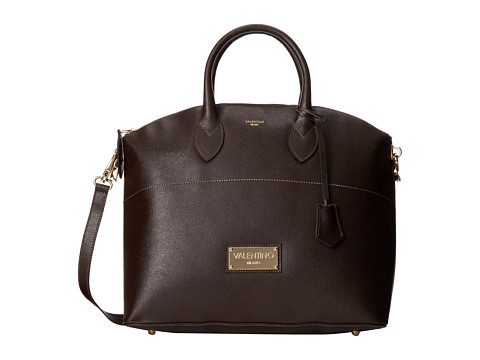 Valentino Bags by Mario Valentino - Bravia (Dark Brown) Satchel Handbags