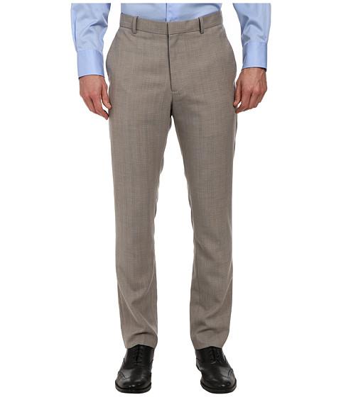 Perry Ellis - Slim Fit Travel Luxe Stripe Dress Pant (Alloy) Men's Dress Pants