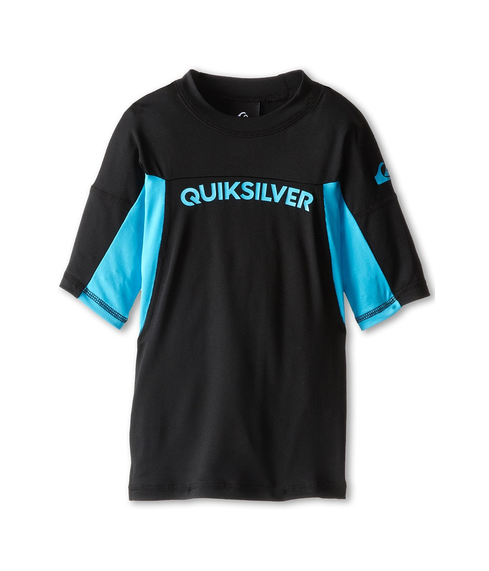 Quiksilver Kids - Performer Surfshirt Rashguard (Big Kids) (Hawaiian Ocean) Boy's Swimwear