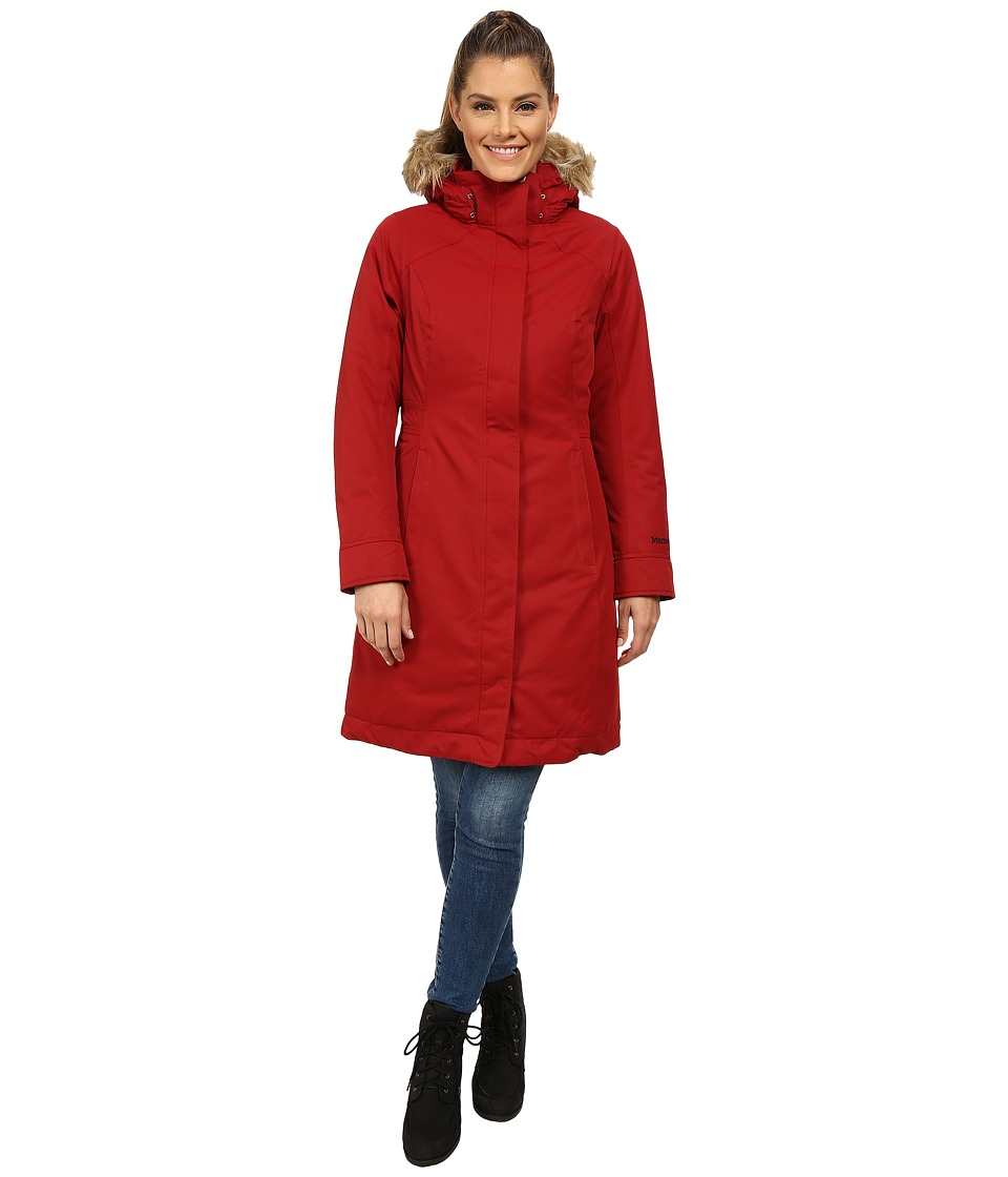 Marmot - Chelsea Coat (Dark Crimson) Women's Coat