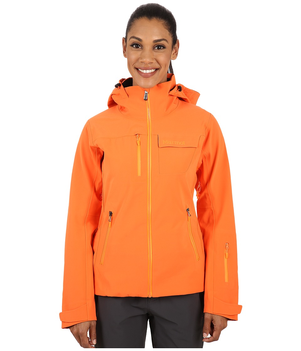 Marmot - Cody Bowl Jacket (Orange Coral) Women's Coat