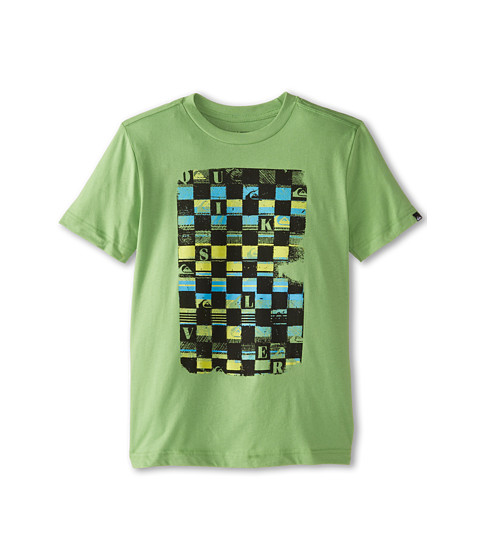 Quiksilver Kids - Checka Tee (Big Kids) (Shamrock) Boy's T Shirt
