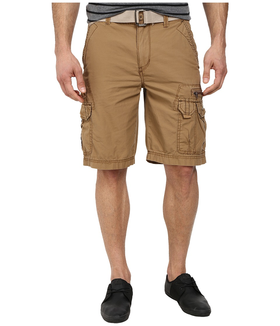 UNIONBAY - Bailey Belted Cargo Short (Field) Men's Shorts