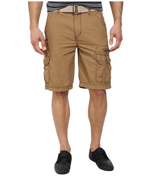 UNIONBAY - Bailey Belted Cargo Short (Field) Men's Shorts