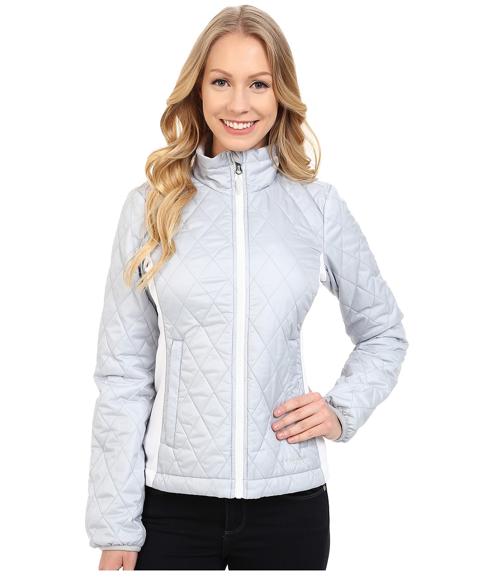 Marmot - Kitzbuhel Jacket (Silver/White) Women's Coat