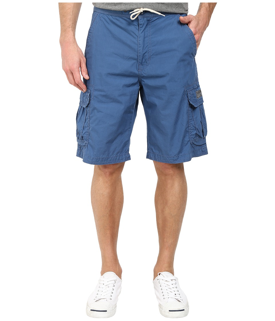 UNIONBAY - Blake Knit Waist Cargo Short (Blue Glaze) Men's Shorts