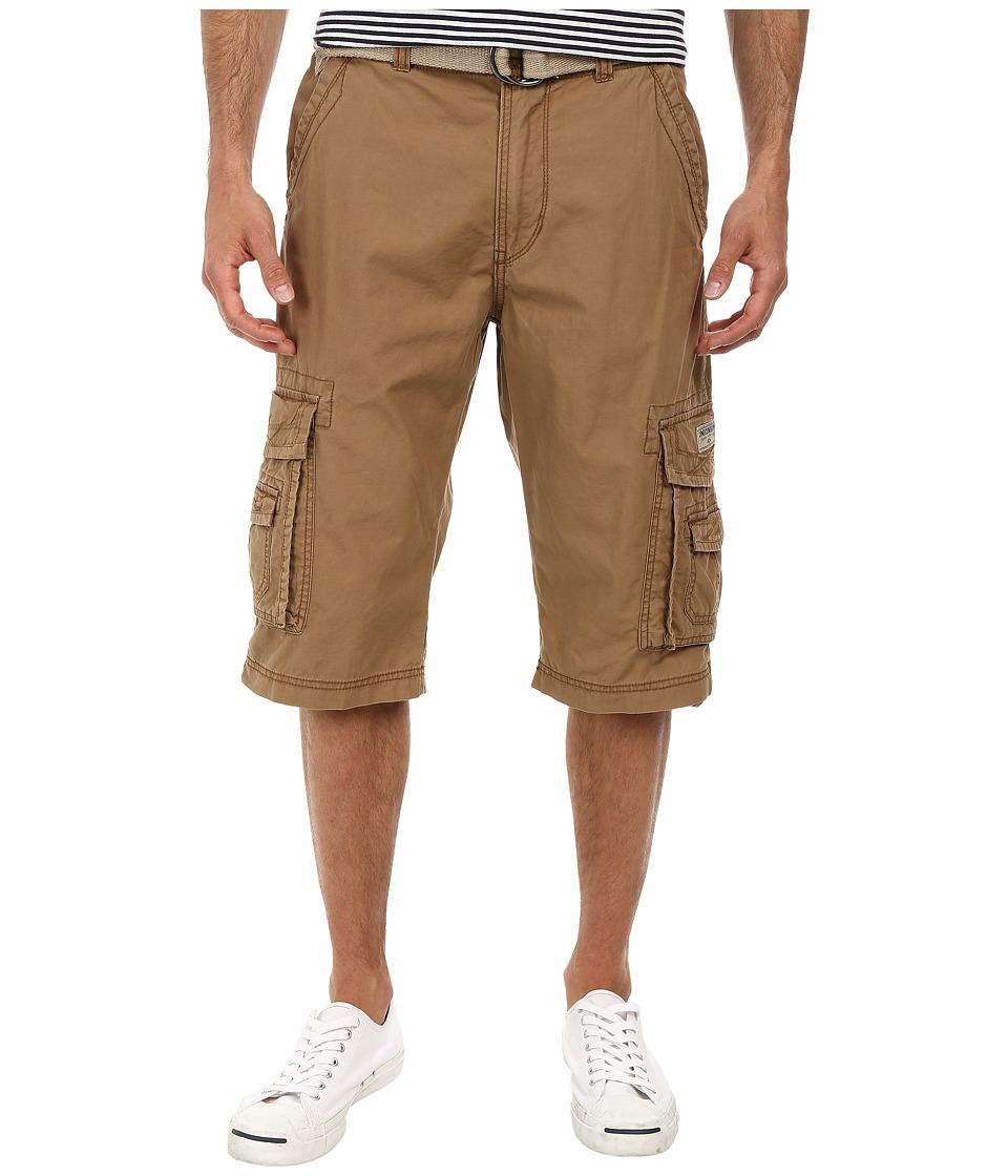UNIONBAY - Cordova Belted Cargo Short (Field) Men's Shorts