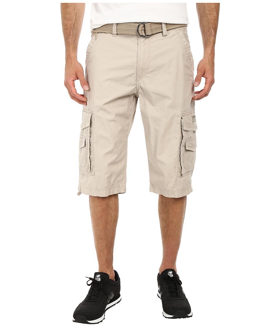UNIONBAY - Cordova Belted Cargo Short (Sand) Men
