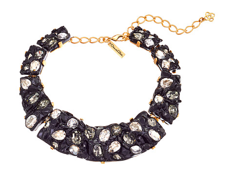 Oscar de la Renta - Diamond Rock Necklace (Black) Necklace