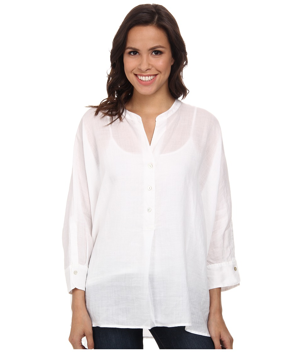 NIC+ZOE - Beachy Breeze Top (Paper White) Women's Blouse
