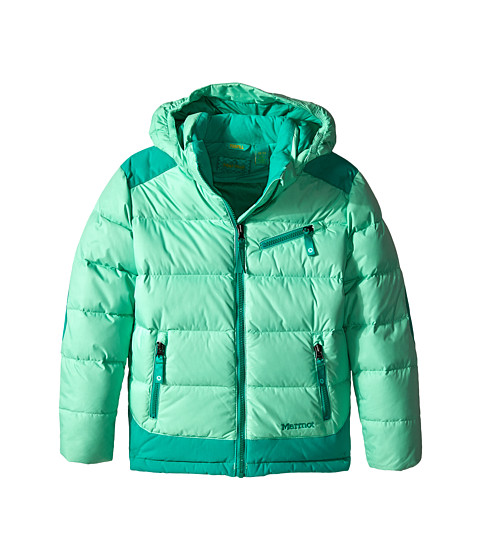 Marmot Kids - Girl's Sling Shot Jacket (Little Kids/Big Kids) (Green Frost/Gem Green) Girl's Coat