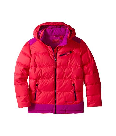 Marmot Kids - Girl's Sling Shot Jacket (Little Kids/Big Kids) (Pink Rock/Beet Purple) Girl's Coat