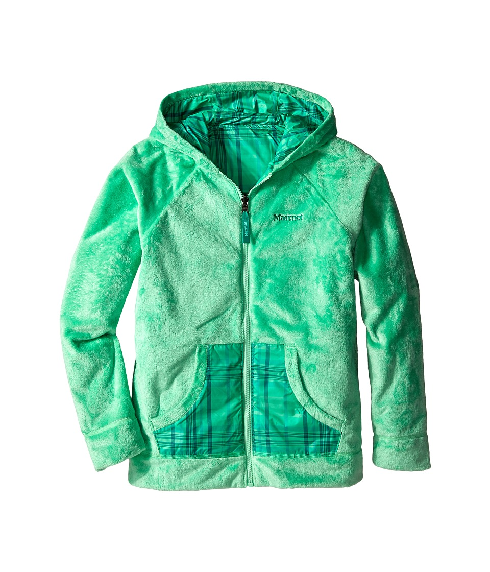 Marmot Kids - Girl's Snow Fall Rev Jacket (Little Kids/Big Kids) (Green Frost) Girl's Jacket