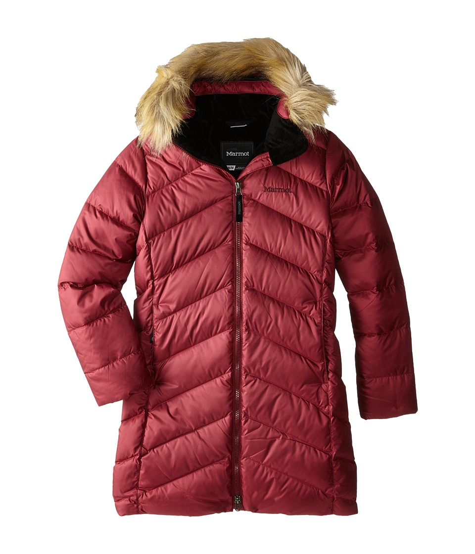 Marmot Kids - Girls' Montreaux Coat (Little Kids/Big Kids) (Berry Wine) Girl's Coat